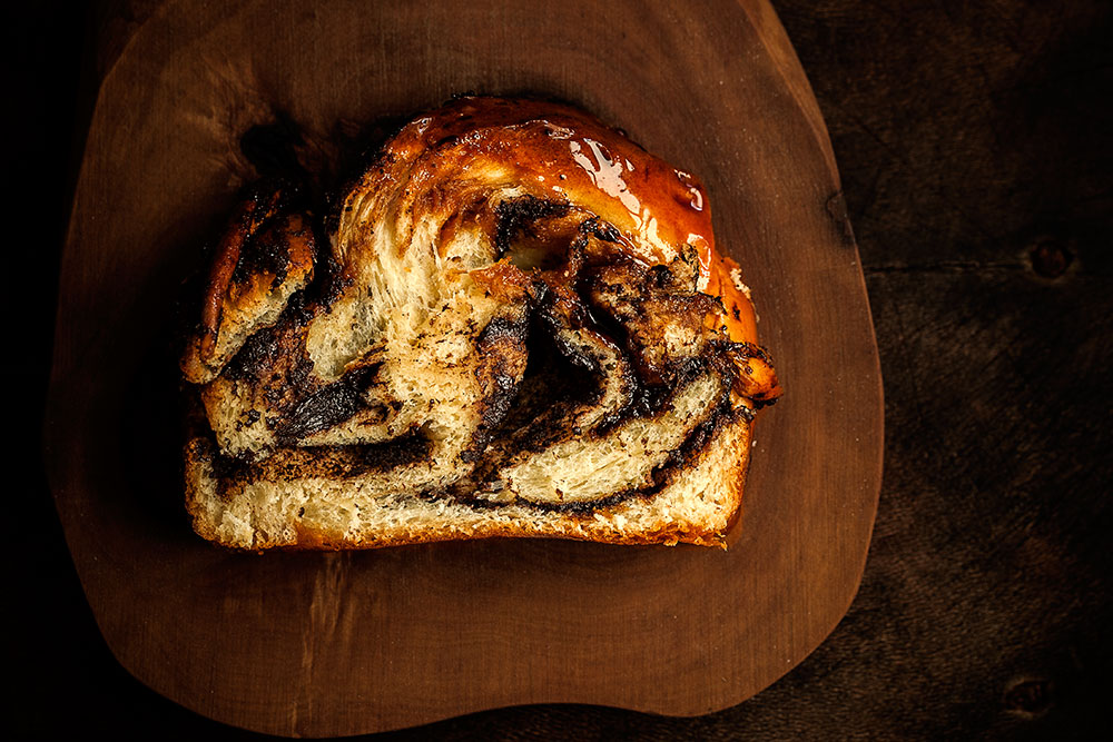 Chocolate Babka Slice