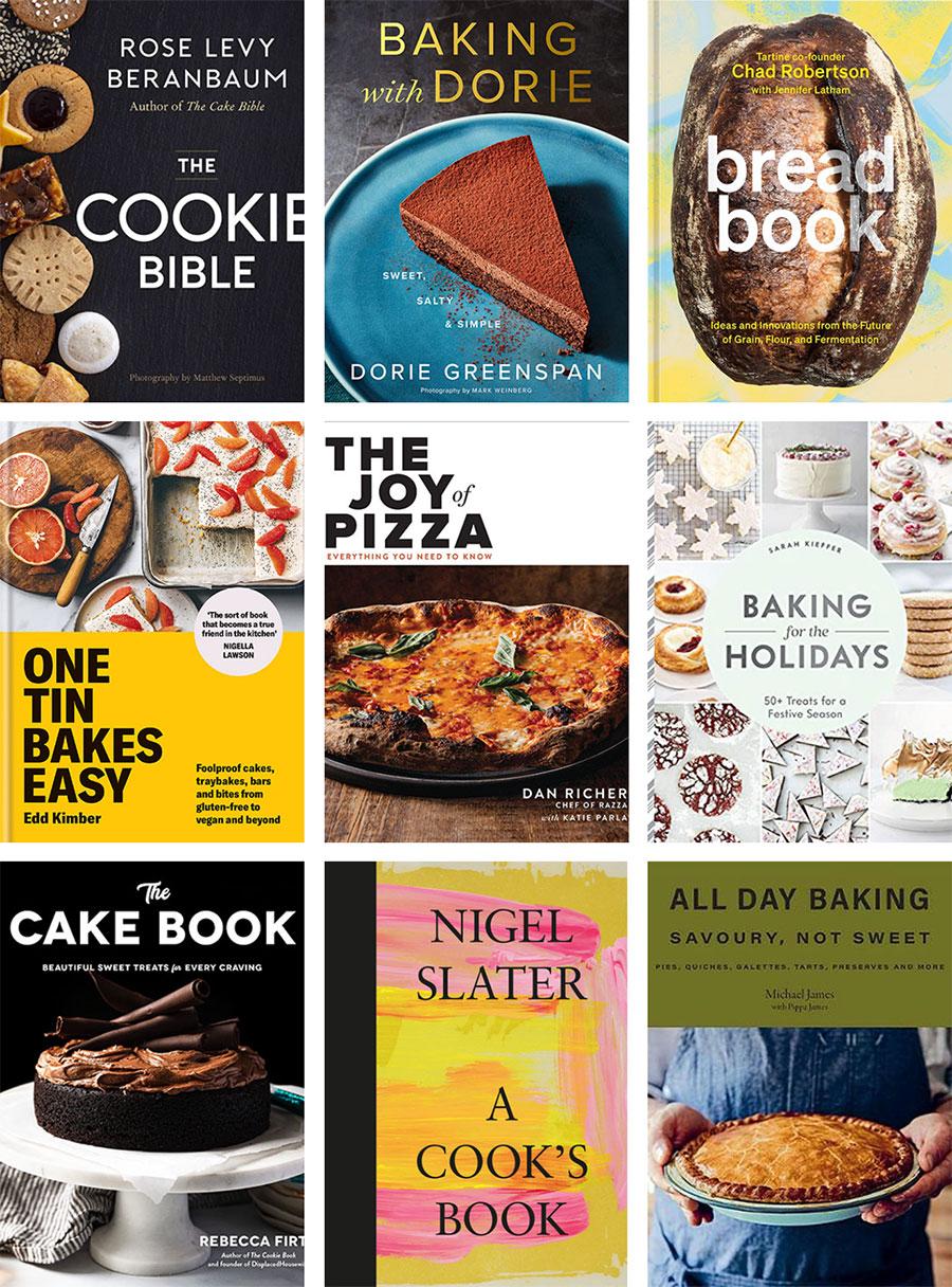 New Fall 2021 Cookbooks