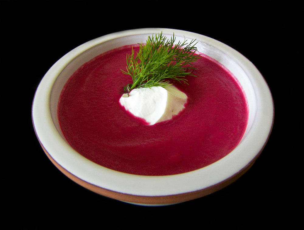 Roasted Beet Soup