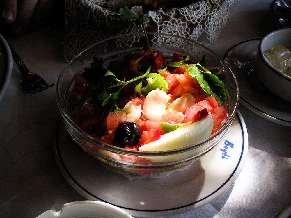 Beyti Bean Salad