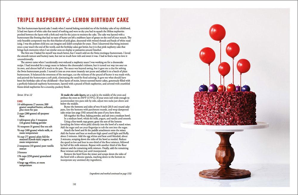 The Artful Baker - Triple Raspberry & Lemon Birthday Cake
