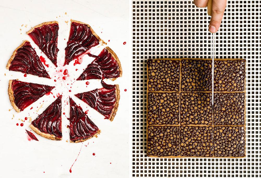 Brownie Wears Lace - Raspberry Jewel Pluot Galette