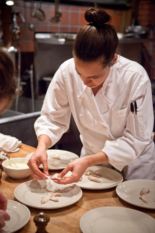 Chez Panisse Salata Hazırlık