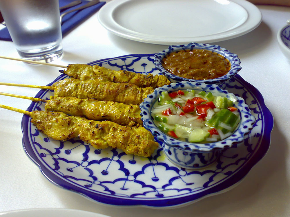 Pera Thai - Chicken Satay