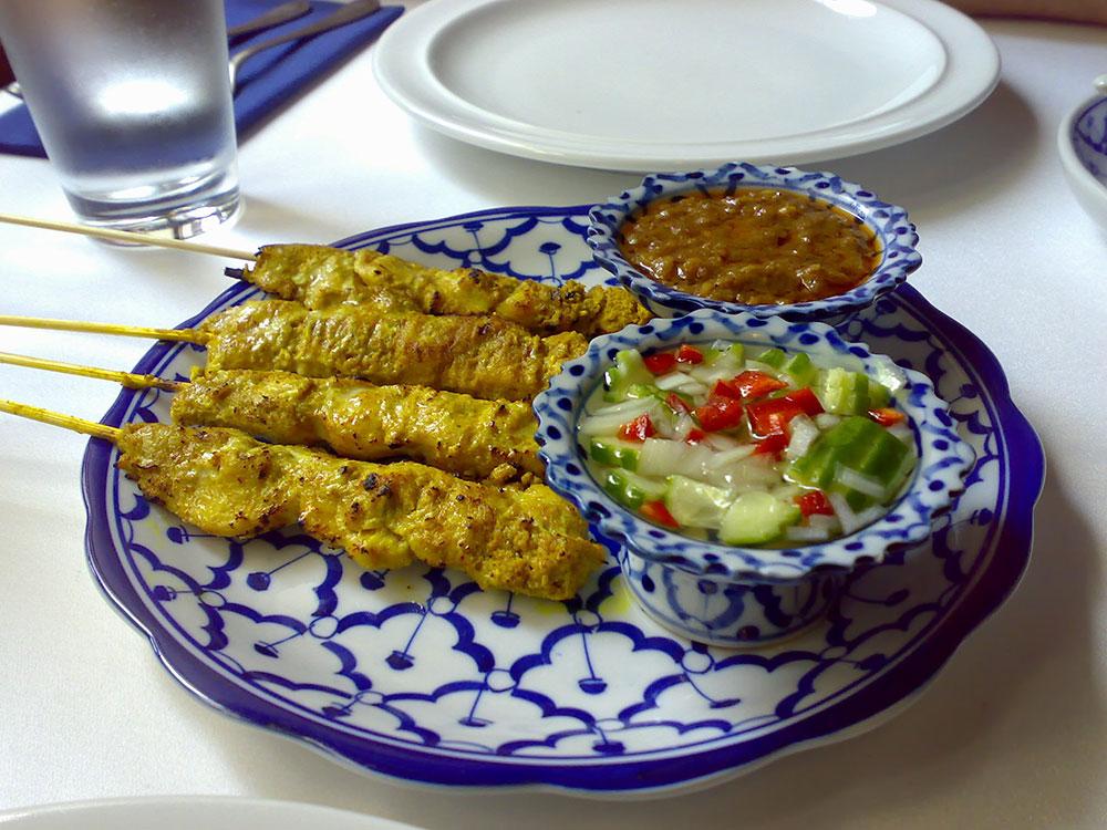 Pera Thai - Chicken Satay