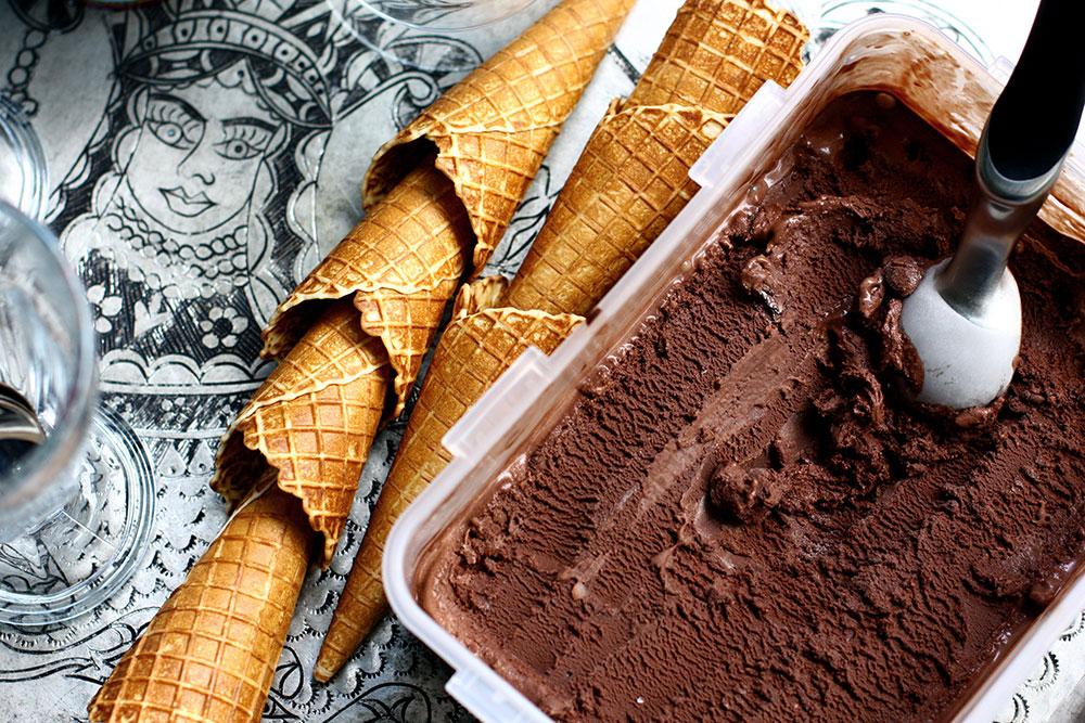 Çikolatalı Gelato 3