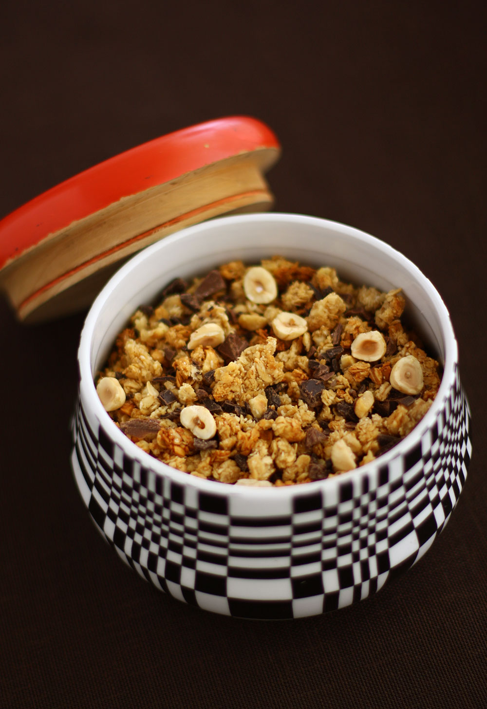 Chocolate and Hazelnut Granola 2