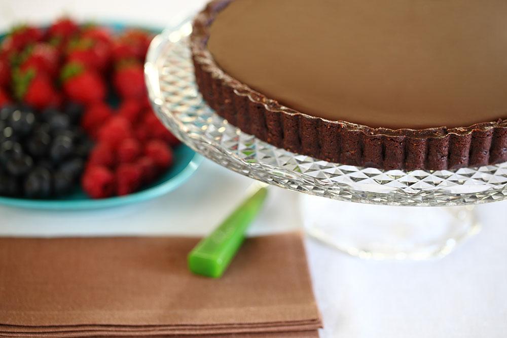 Çikolata ve Kahveli Tart 1
