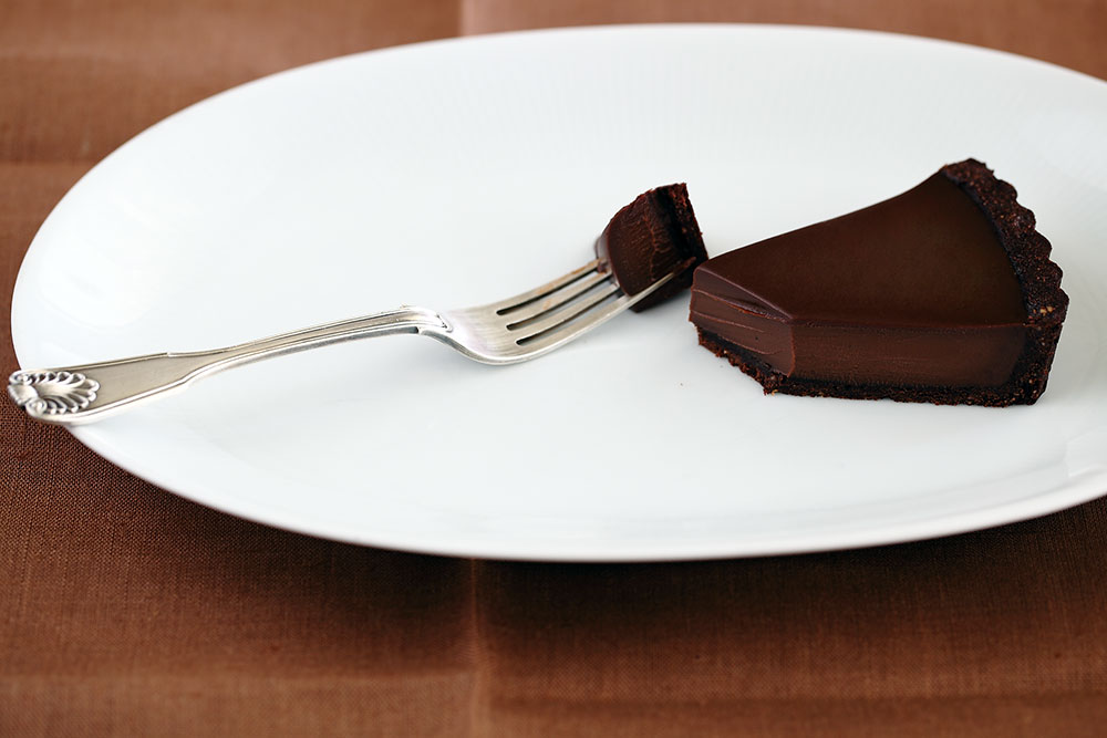 Chocolate and Vietnamese Coffee Tart