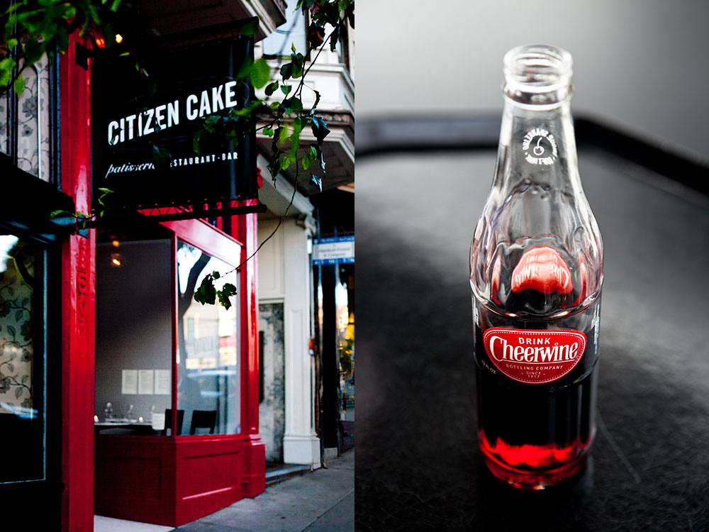 Citizen Cake Cheerwine