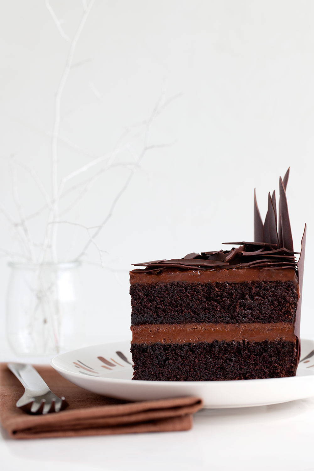 Devil S Food Cake For Design Sponge