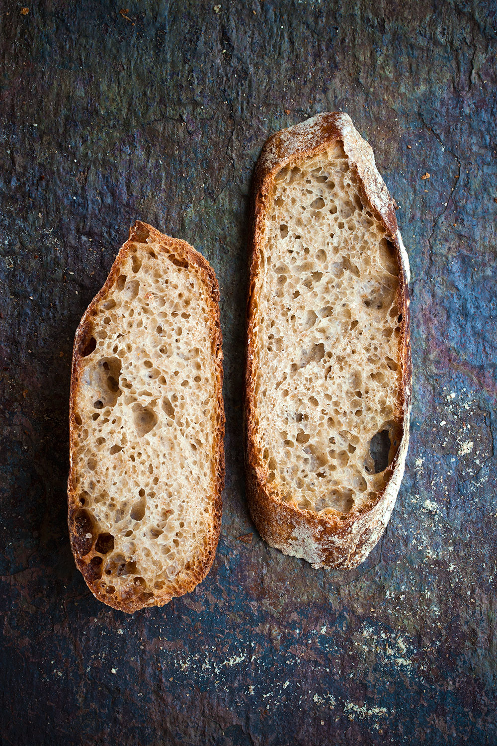Tartine's Basic Sourdough Country Bread Slices