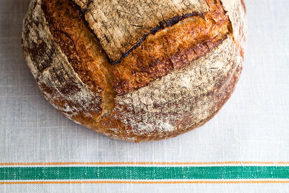 Ekşi Mayalı Ekmek - Kabuk