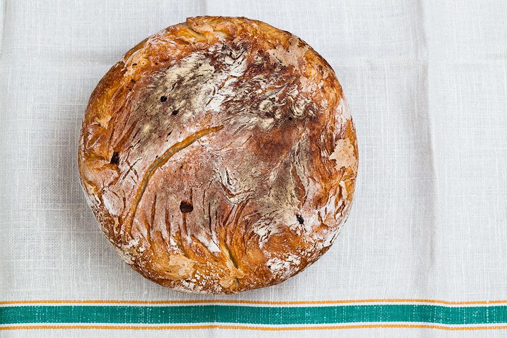 Ekşi Mayalı Ekmek - Taban