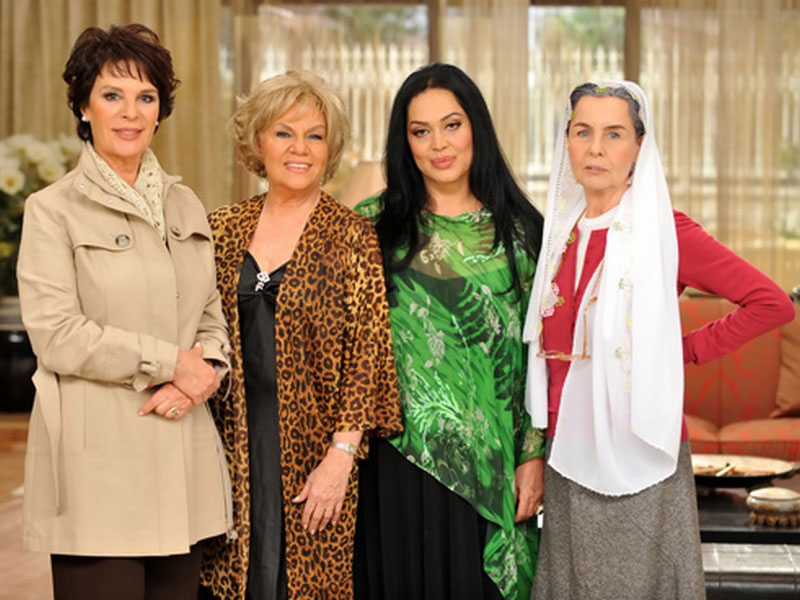 Golden Girls Turkish cast