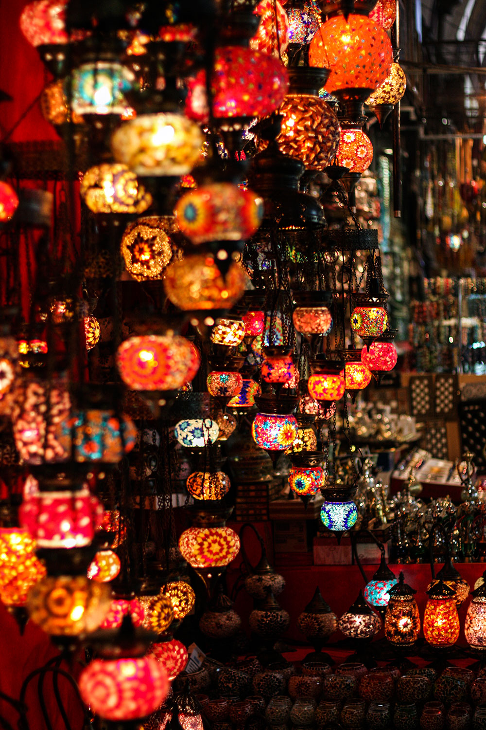 The Grand Bazaar Lamps