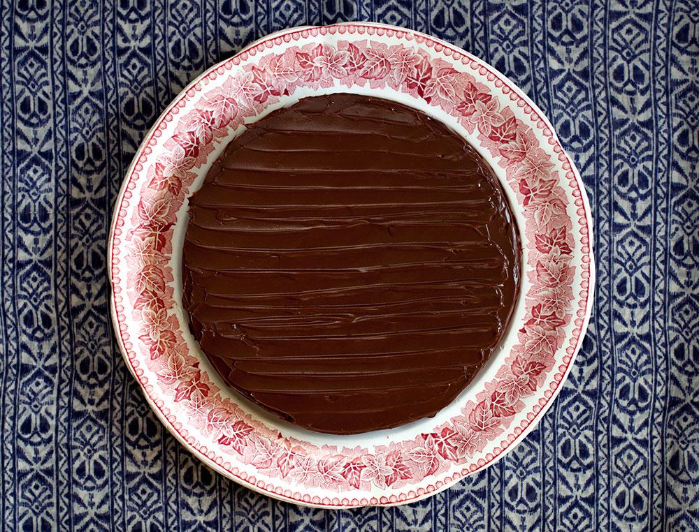 Fındıklı ve Çikolatalı Pasta