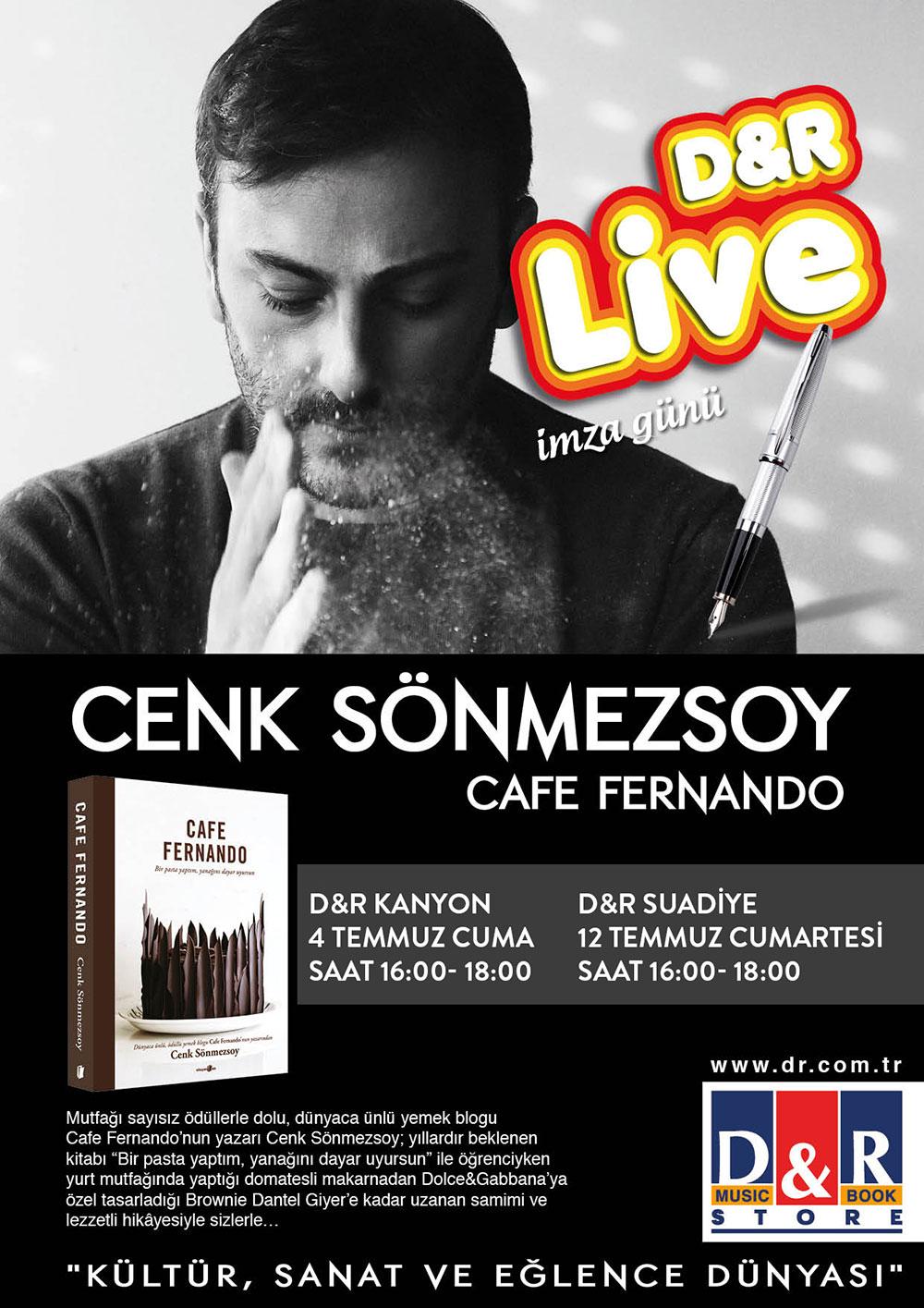 Cafe Fernando İlk İmza Günü D&R Kanyon
