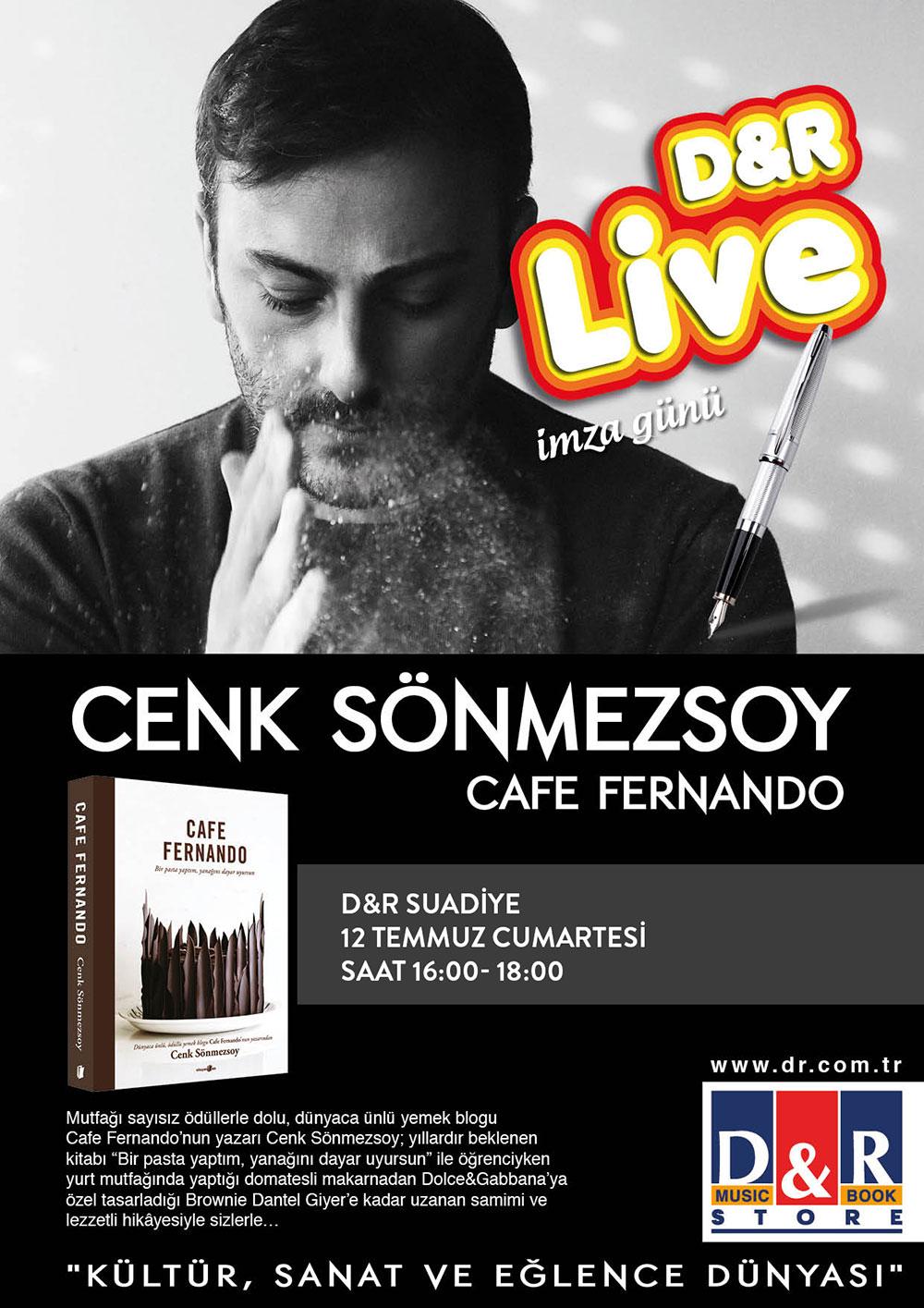 Cafe Fernando İmza Günü D&R Suadiye