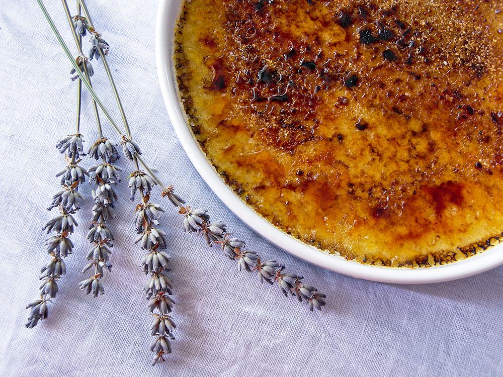Lavender Creme Brulee