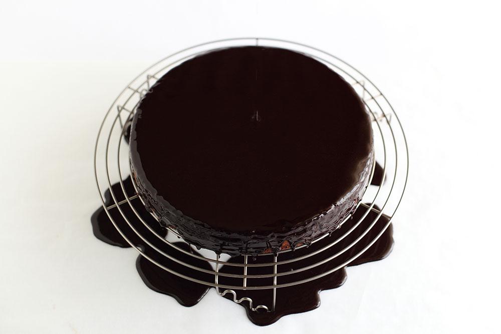 L'Orange - Portakal, Badem ve Çikolatalı Kek Adım 13