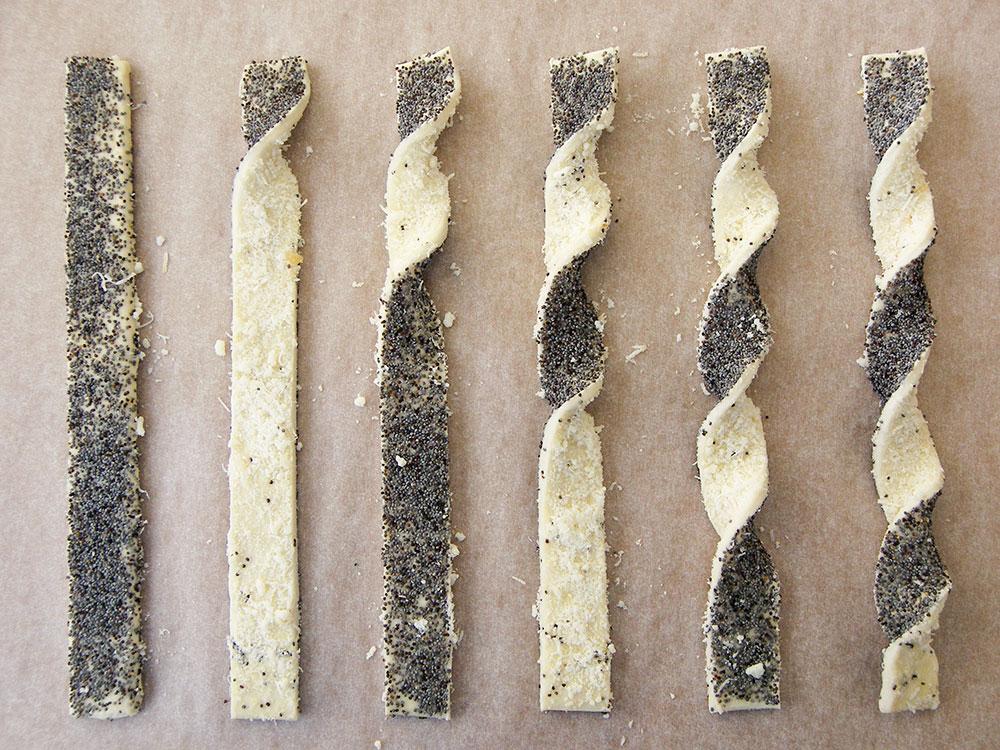 Parmesan Poppy Seed Straws 6