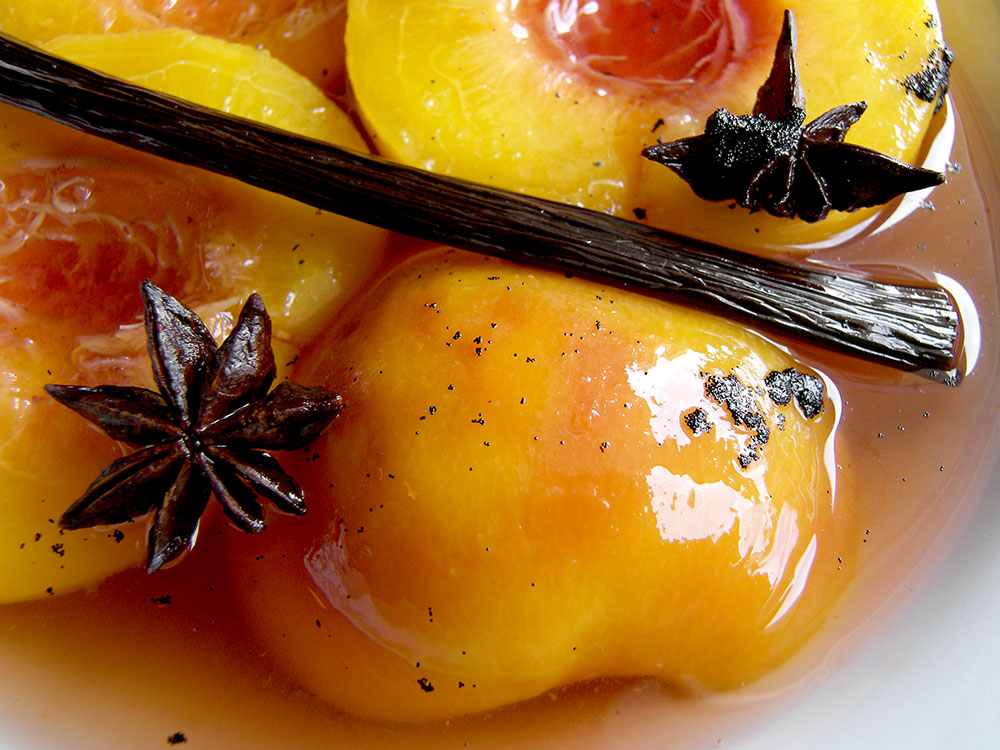 Peaches, Vanilla and Star Anise 1