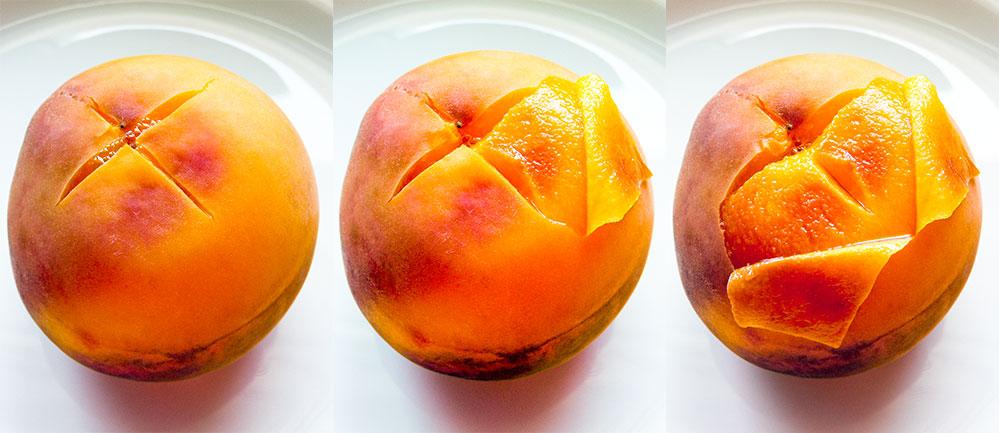 Peeling Peach