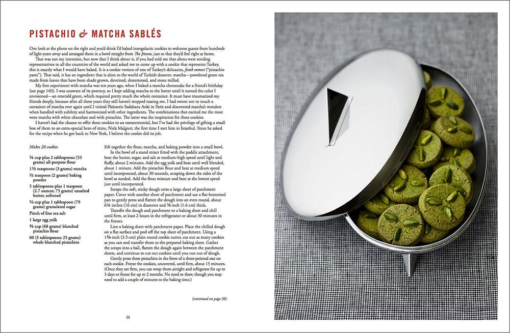 The Artful Baker - Pistachio & Matcha Sables