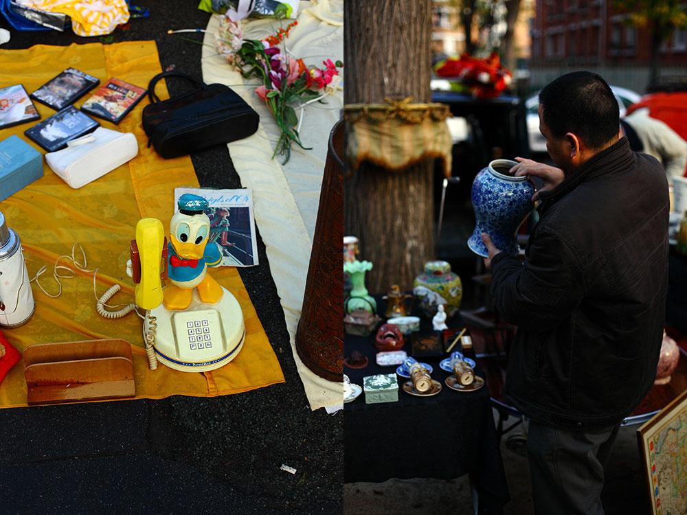 Puces de Vanves - Paris Bit Pazarları