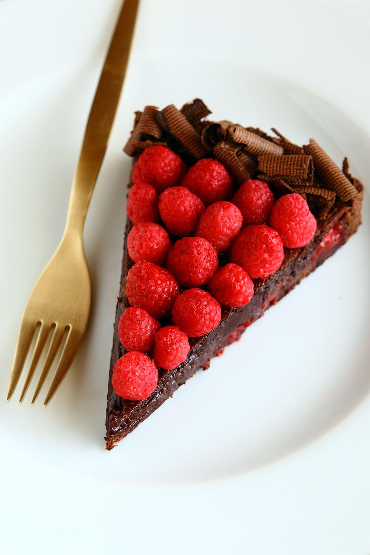 Frambuaz ve Çikolatalı Tart 2