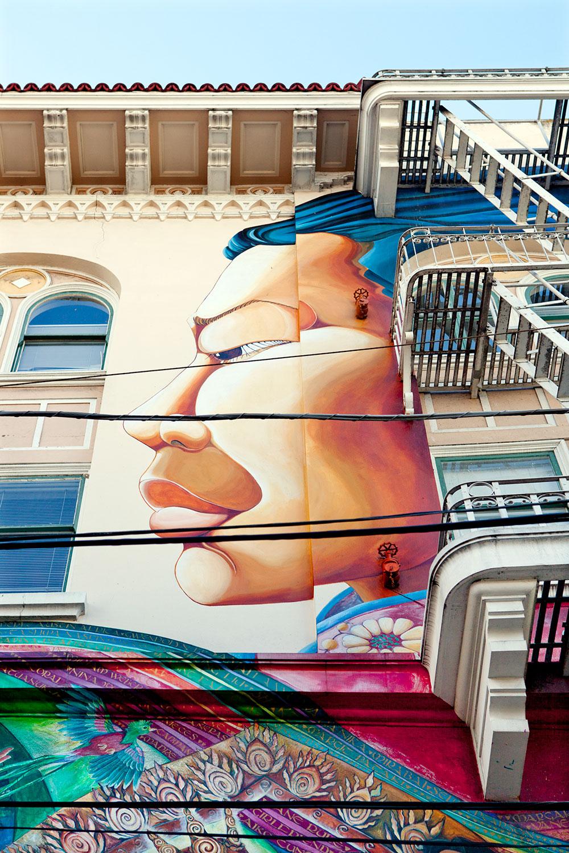 San Francisco Duvar Resimleri 1