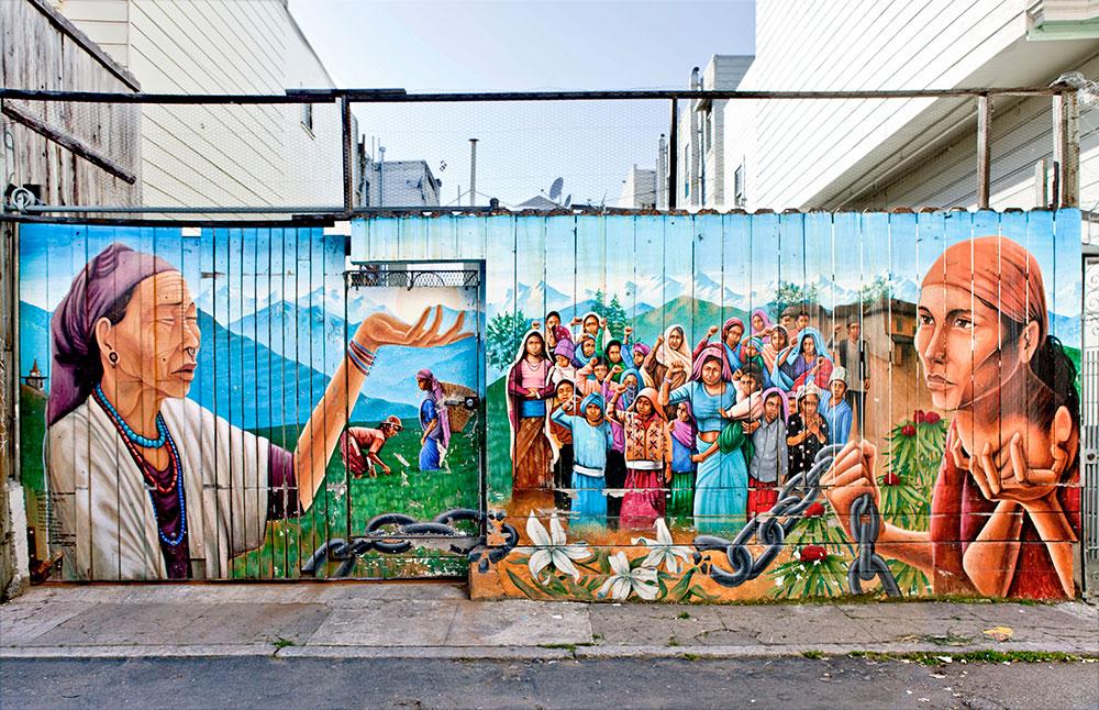 San Francisco Duvar Resimleri 2