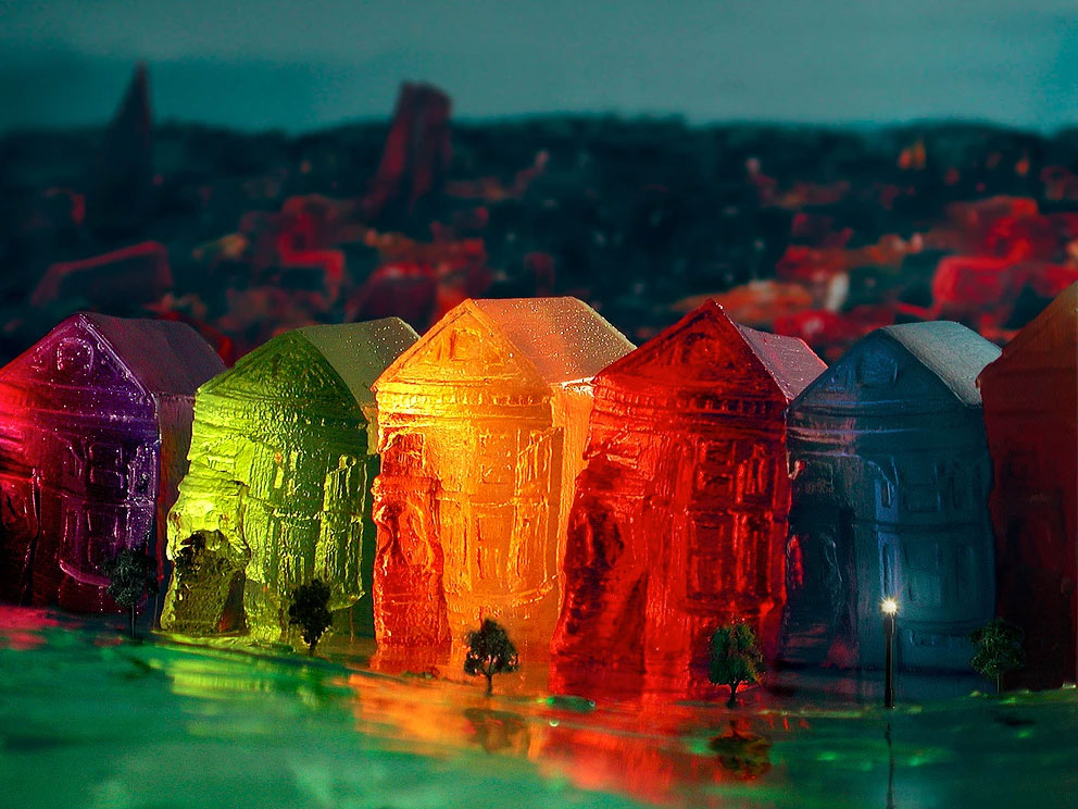 San Francisco in Jello