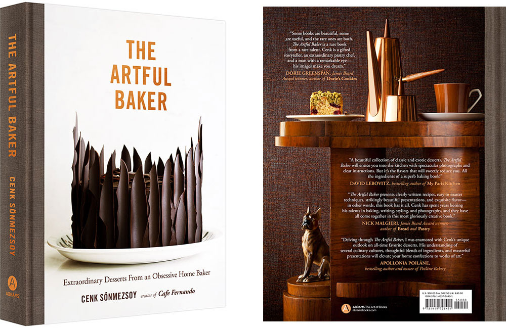 The Artful Baker - Front and Back Cover