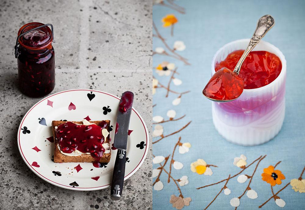 The Artful Baker - Jams