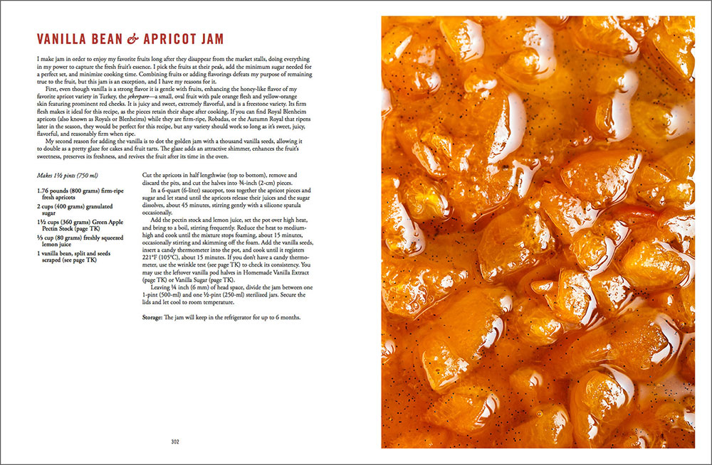 The Artful Baker Preview - Apricot Vanilla Jam