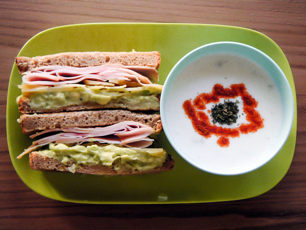 Turkey Sandwich Tzatziki
