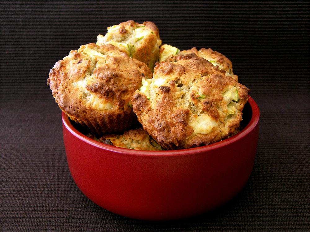 Kabaklı ve Eski Kaşarlı Muffin