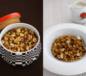 Chocolate and Hazelnut Granola