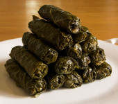 Stuffed Vine Leaves & The Ultimate Dolma Machine
