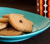 Coffee Hazelnut Cookies