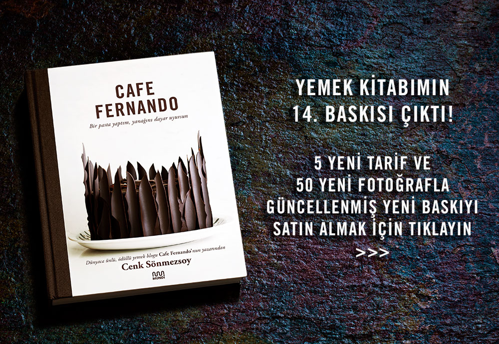 Cafe Fernando Yemek Kitabı